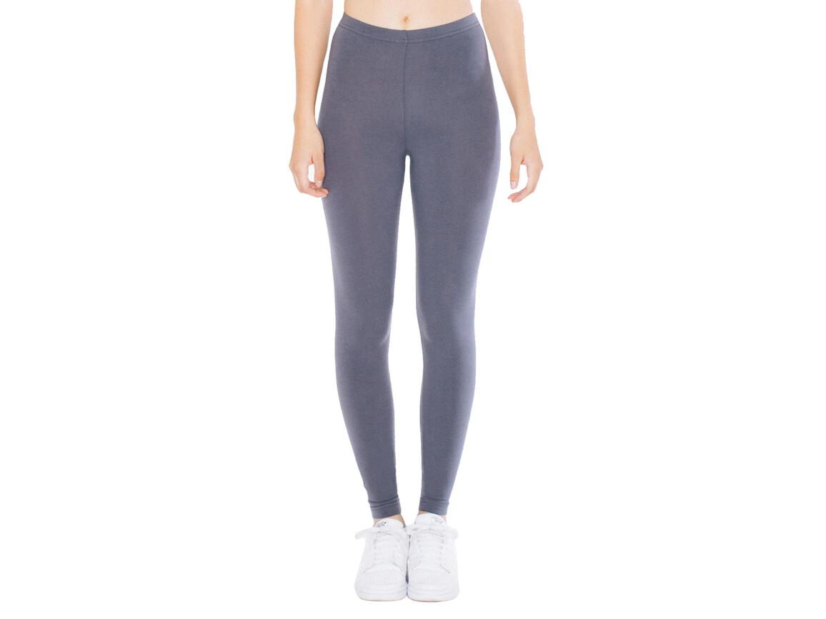 American Apparel Women`s Jersey Legging, Asphalt, XS bedrucken, Art.-Nr. 901071062
