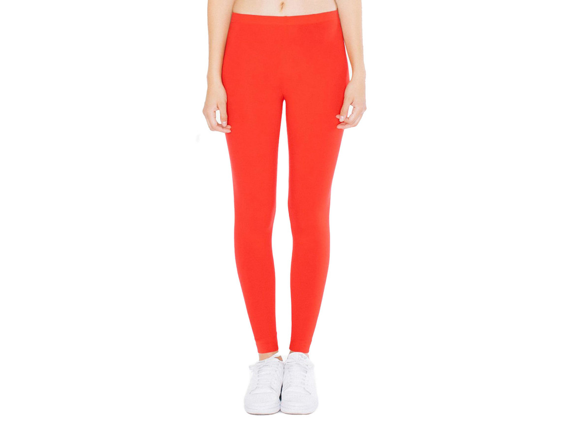 American Apparel Women`s Jersey Legging, Red, XL bedrucken, Art.-Nr. 901074006