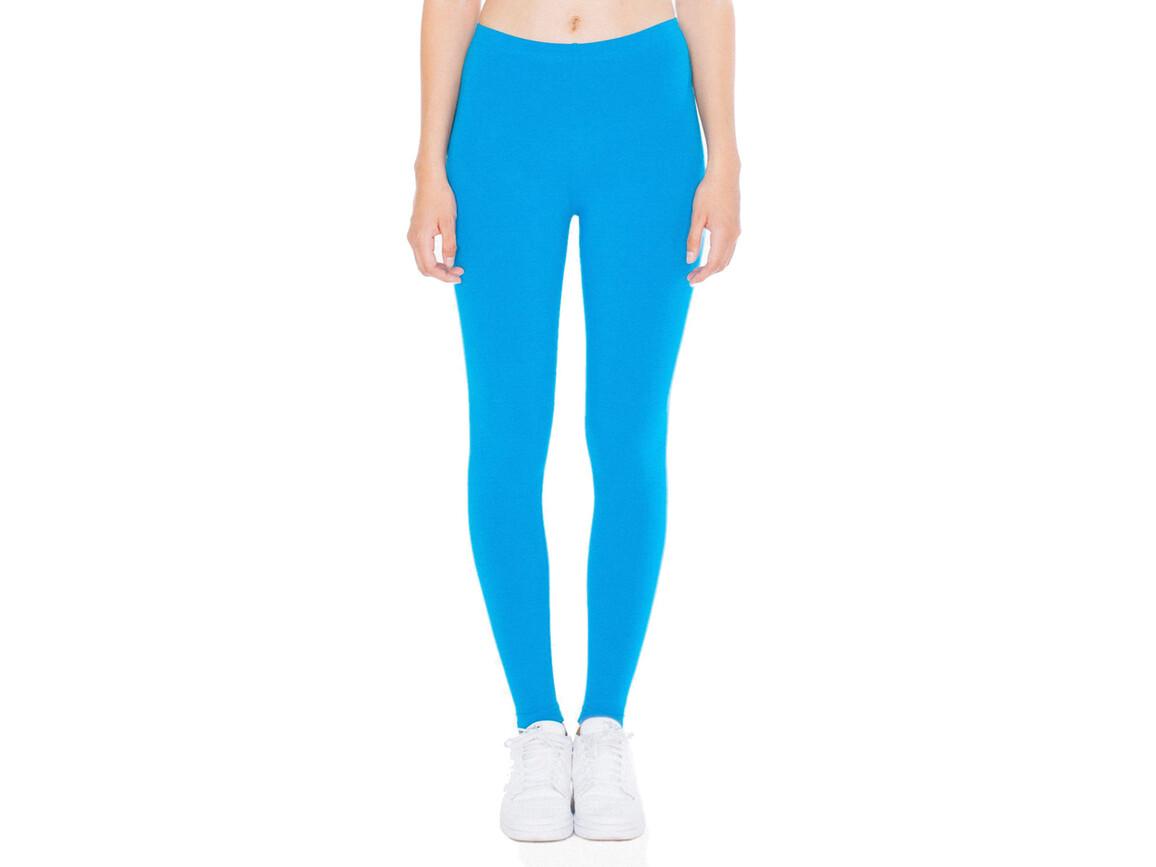 American Apparel Women`s Jersey Legging, Teal, M bedrucken, Art.-Nr. 901075334