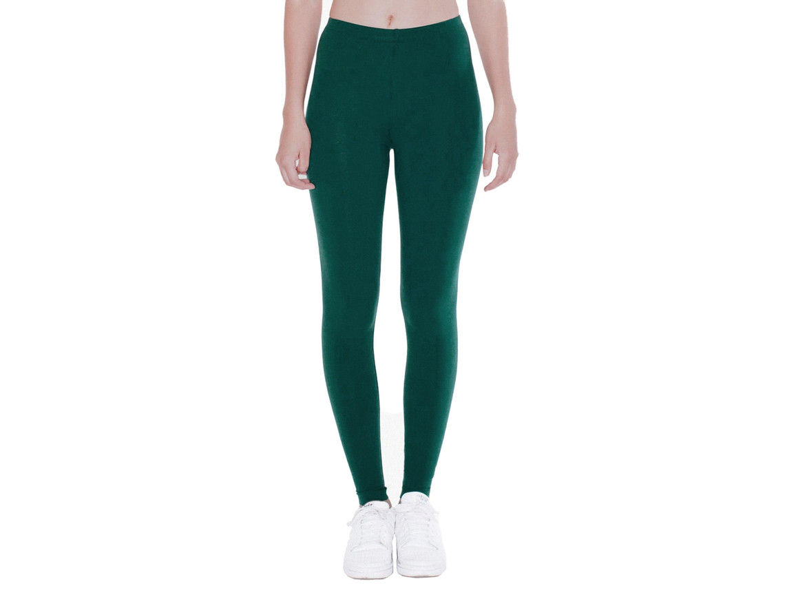 American Apparel Women`s Jersey Legging, Forest, XL bedrucken, Art.-Nr. 901075416