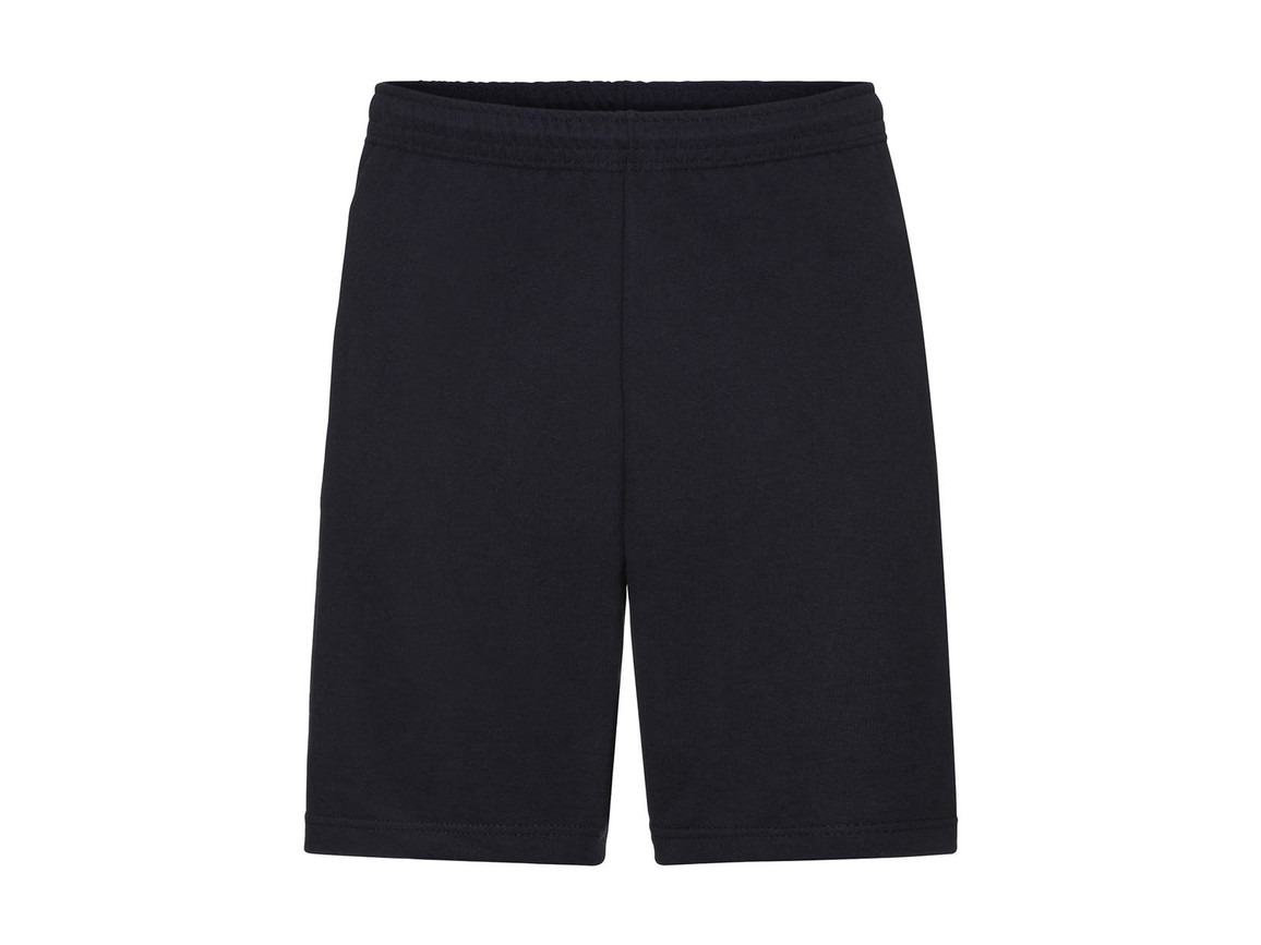 Fruit of the Loom Lightweight Shorts, Deep Navy, L bedrucken, Art.-Nr. 902012025