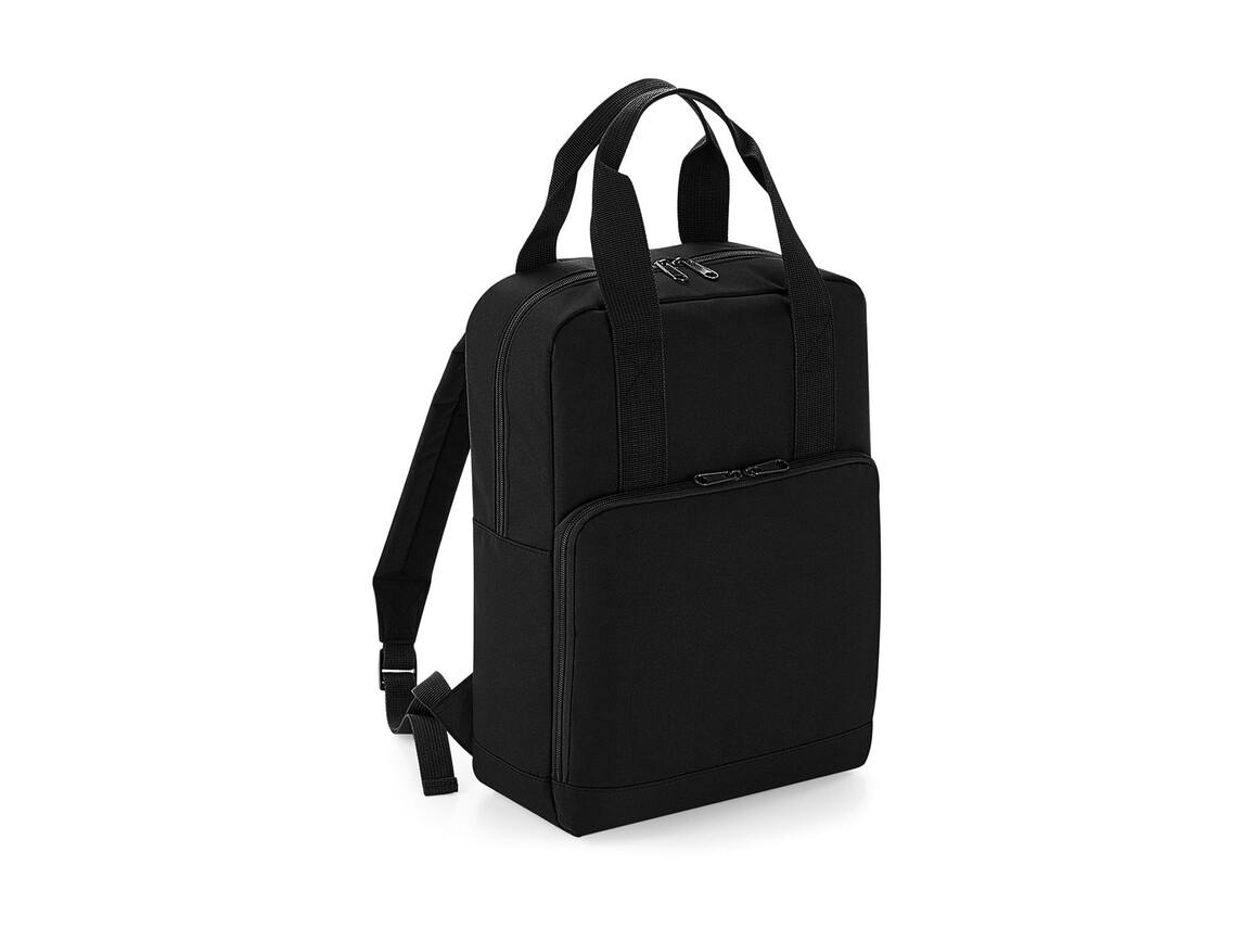 Bag Base Twin Handle Backpack, Black, One Size bedrucken, Art.-Nr. 902291010