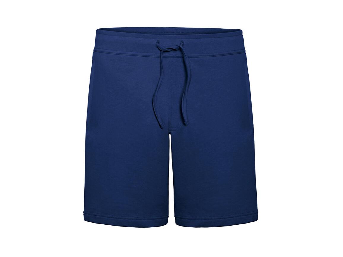 B & C Splash/men Summer Sweat Shorts, Pacific Deep Blue, S bedrucken, Art.-Nr. 902422133