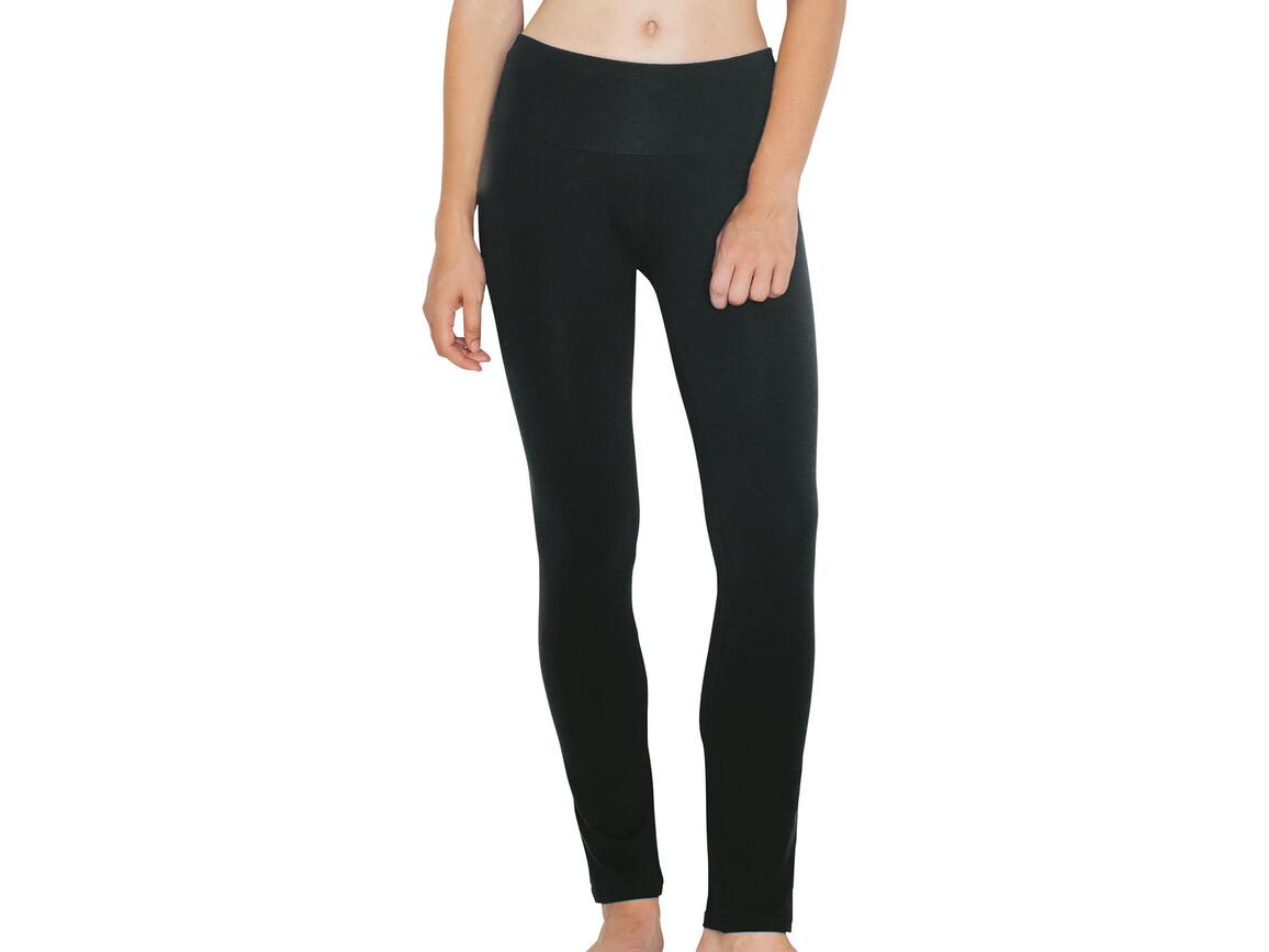 American Apparel Women`s Straight Leg Yoga Pant, Black, S bedrucken, Art.-Nr. 903071013