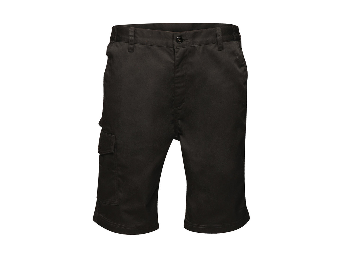 """Regatta Pro Cargo Shorts, Black, 28"""" bedrucken, Art.-Nr. 903171010"""