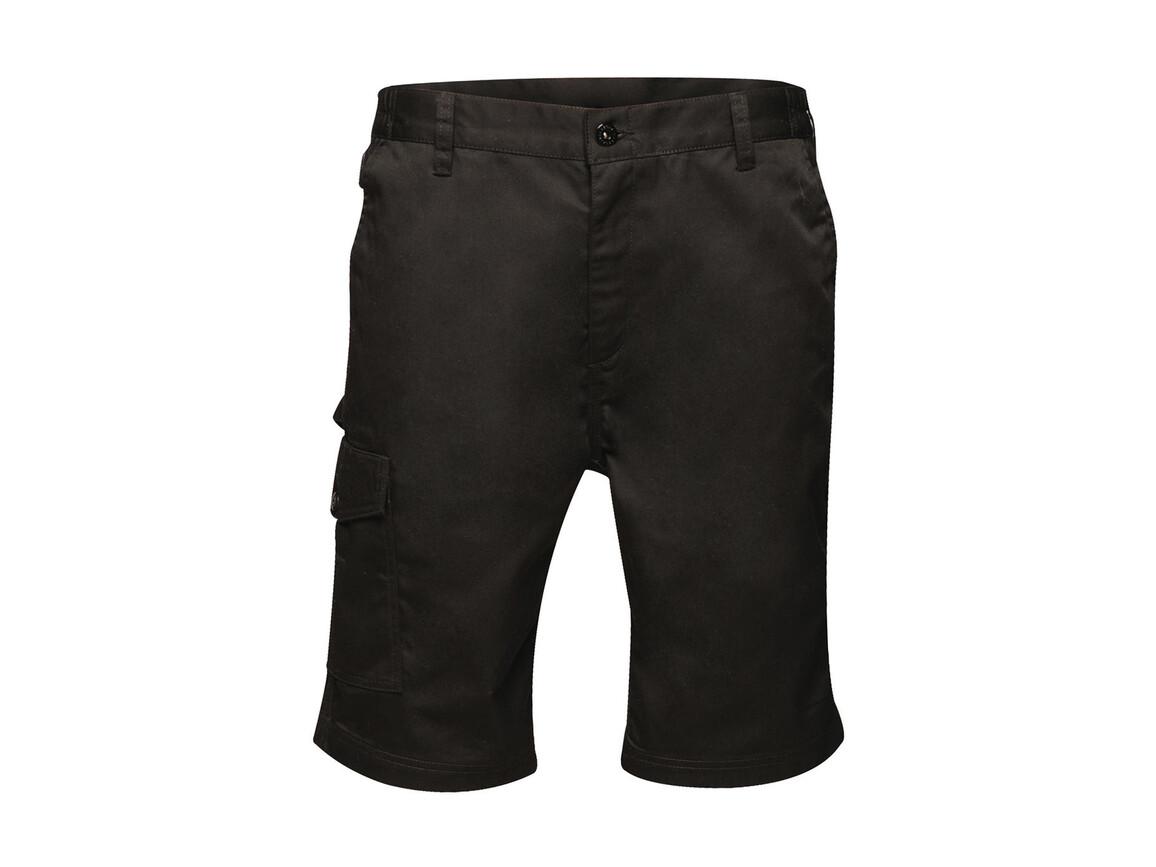 """Regatta Pro Cargo Shorts, Black, 40"""" bedrucken, Art.-Nr. 903171016"""