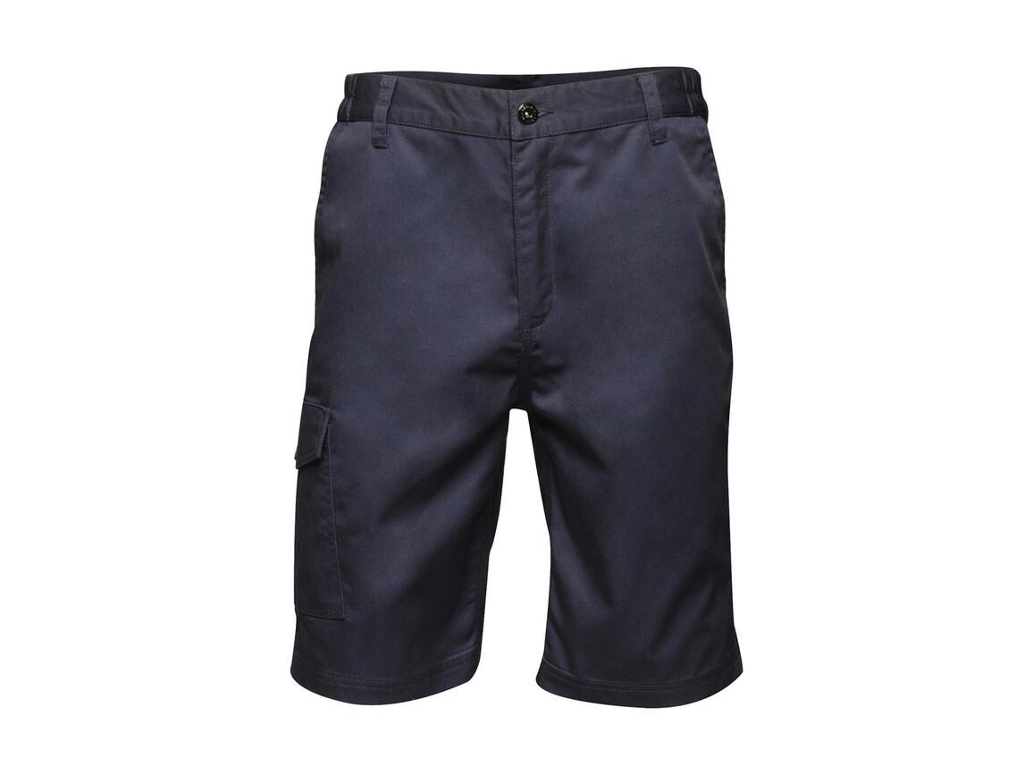 """Regatta Pro Cargo Shorts, Navy, 46"""" bedrucken, Art.-Nr. 903172009"""