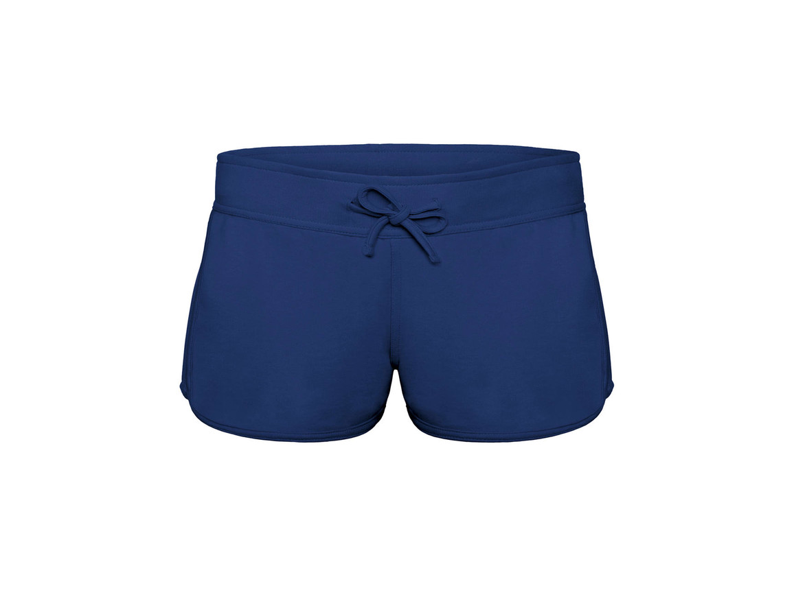 B & C Splash/women Summer Sweat Shorts, Pacific Deep Blue, M bedrucken, Art.-Nr. 903422134