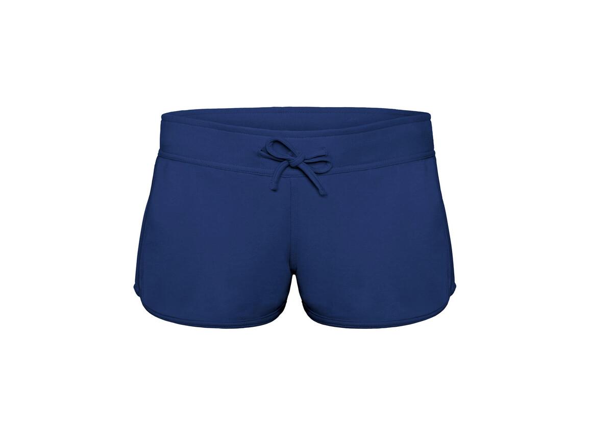 B & C Splash/women Summer Sweat Shorts, Pacific Deep Blue, S bedrucken, Art.-Nr. 903422133