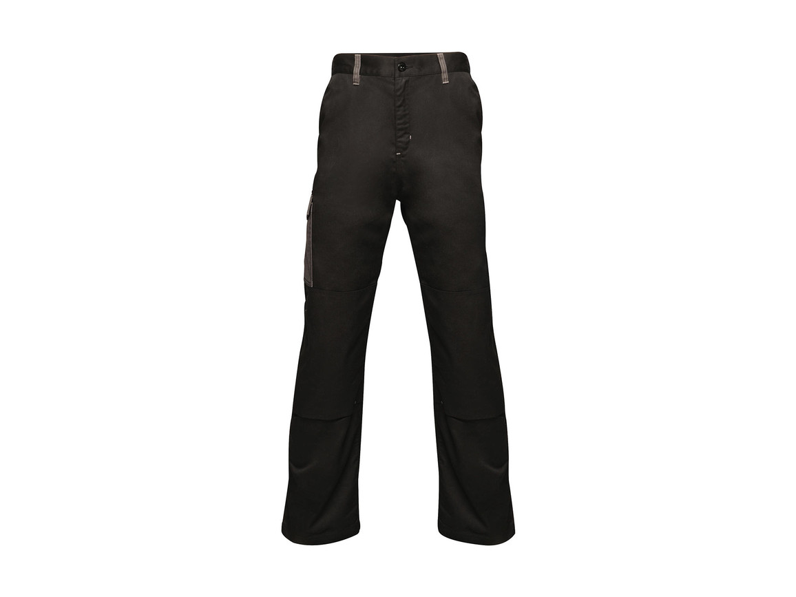 "Regatta Contrast Cargo Trouser, Black/Seal Grey, 38"" bedrucken, Art.-Nr. 904171515"