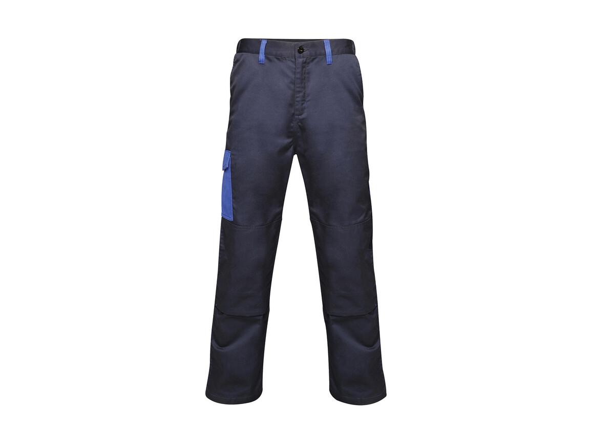 "Regatta Contrast Cargo Trouser, Navy/New Royal, 30"" bedrucken, Art.-Nr. 904172611"