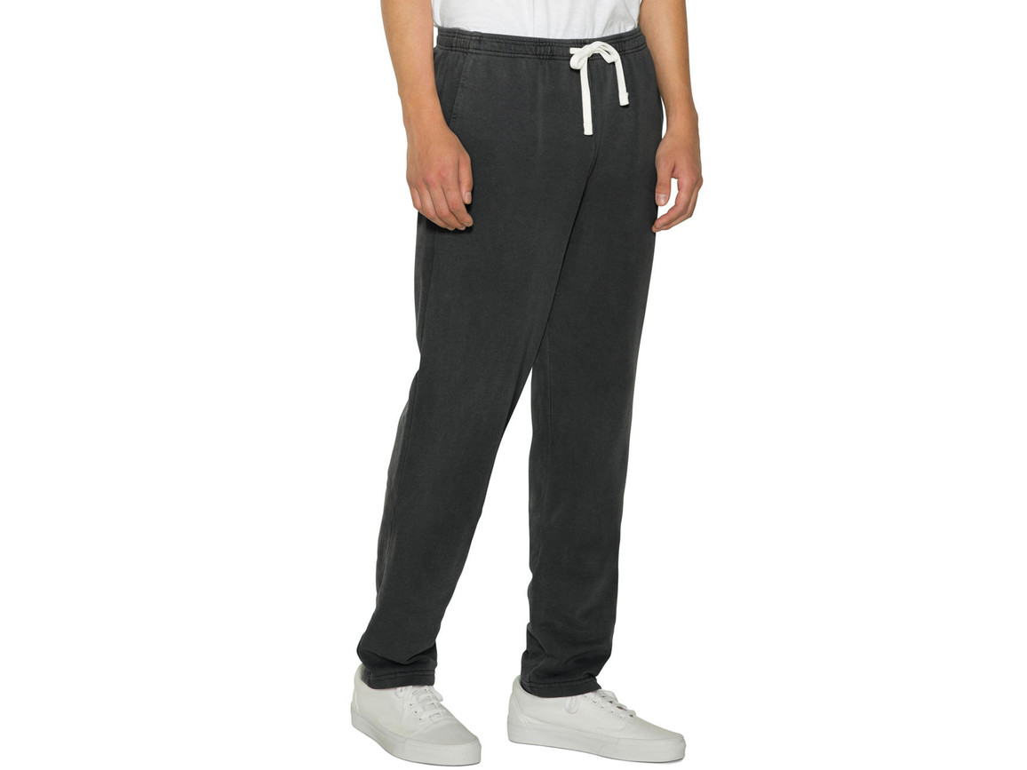 American Apparel Unisex French Terry Straight Leg Pant, Faded Black, 2XL bedrucken, Art.-Nr. 905071027