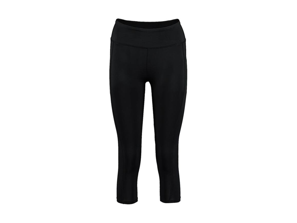 Kustom Kit Women`s Fashion Fit 3/4 length Legging, Black, S bedrucken, Art.-Nr. 905111013