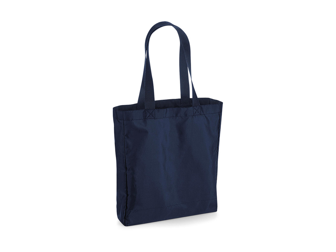 Bag Base Packaway Tote Bag, French Navy/French Navy, One Size bedrucken, Art.-Nr. 905292660