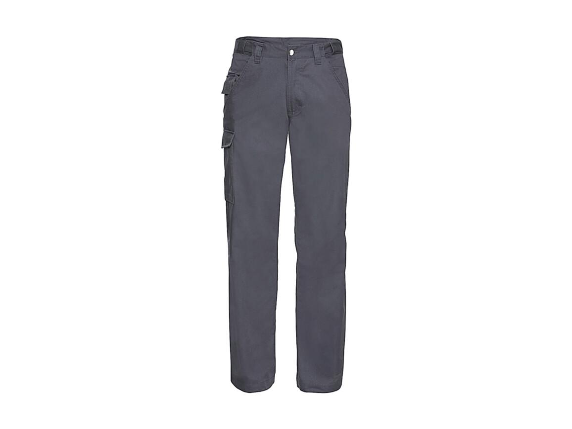 """Russell Europe Twill Workwear Trousers length 34"""", Convoy Grey, 38"""" (96cm) bedrucken, Art.-Nr. 934001276"""