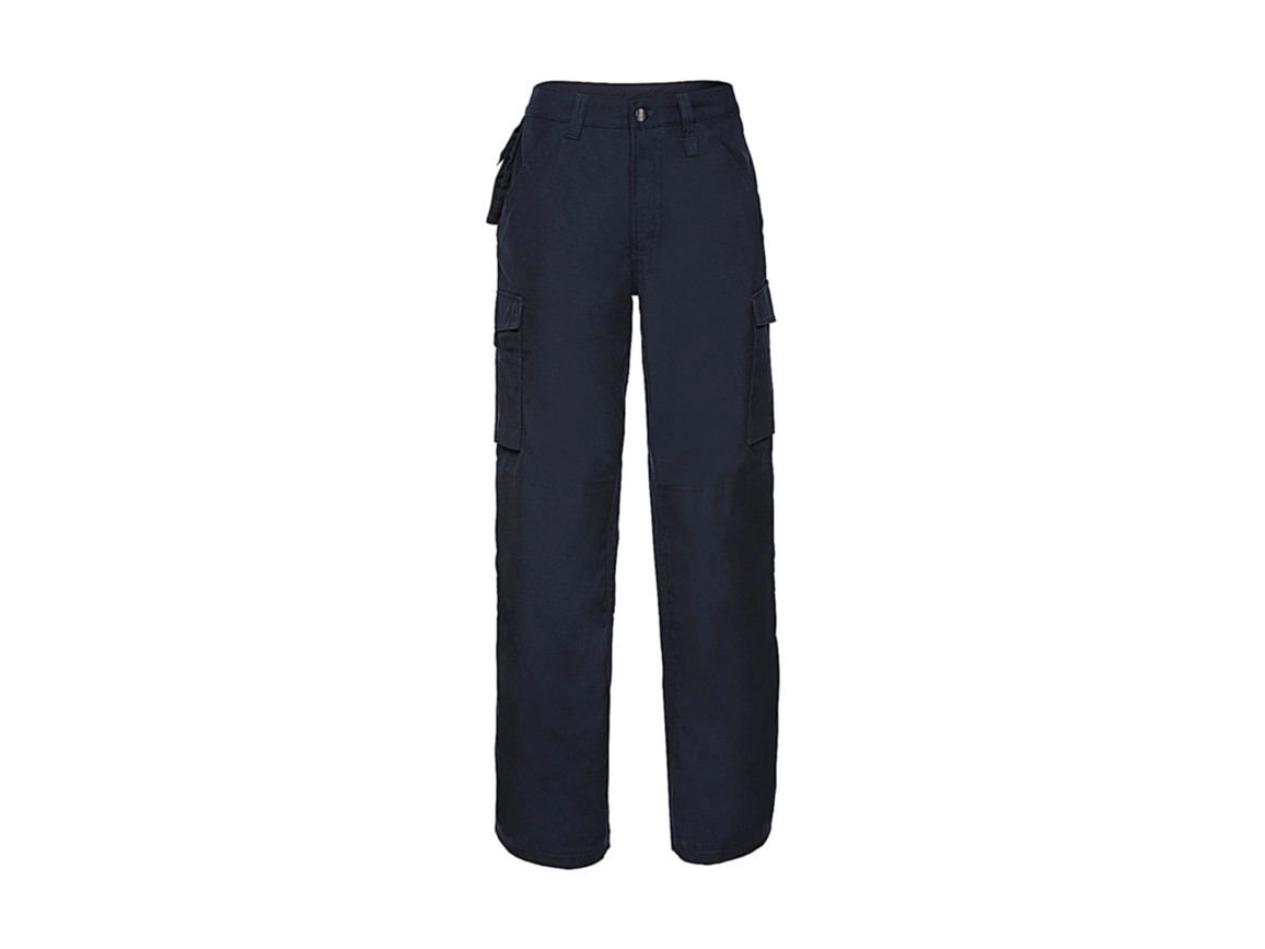 """Russell Europe Hard Wearing Work Trouser Länge 30, French Navy, 38"""" (96cm) bedrucken, Art.-Nr. 976002016"""