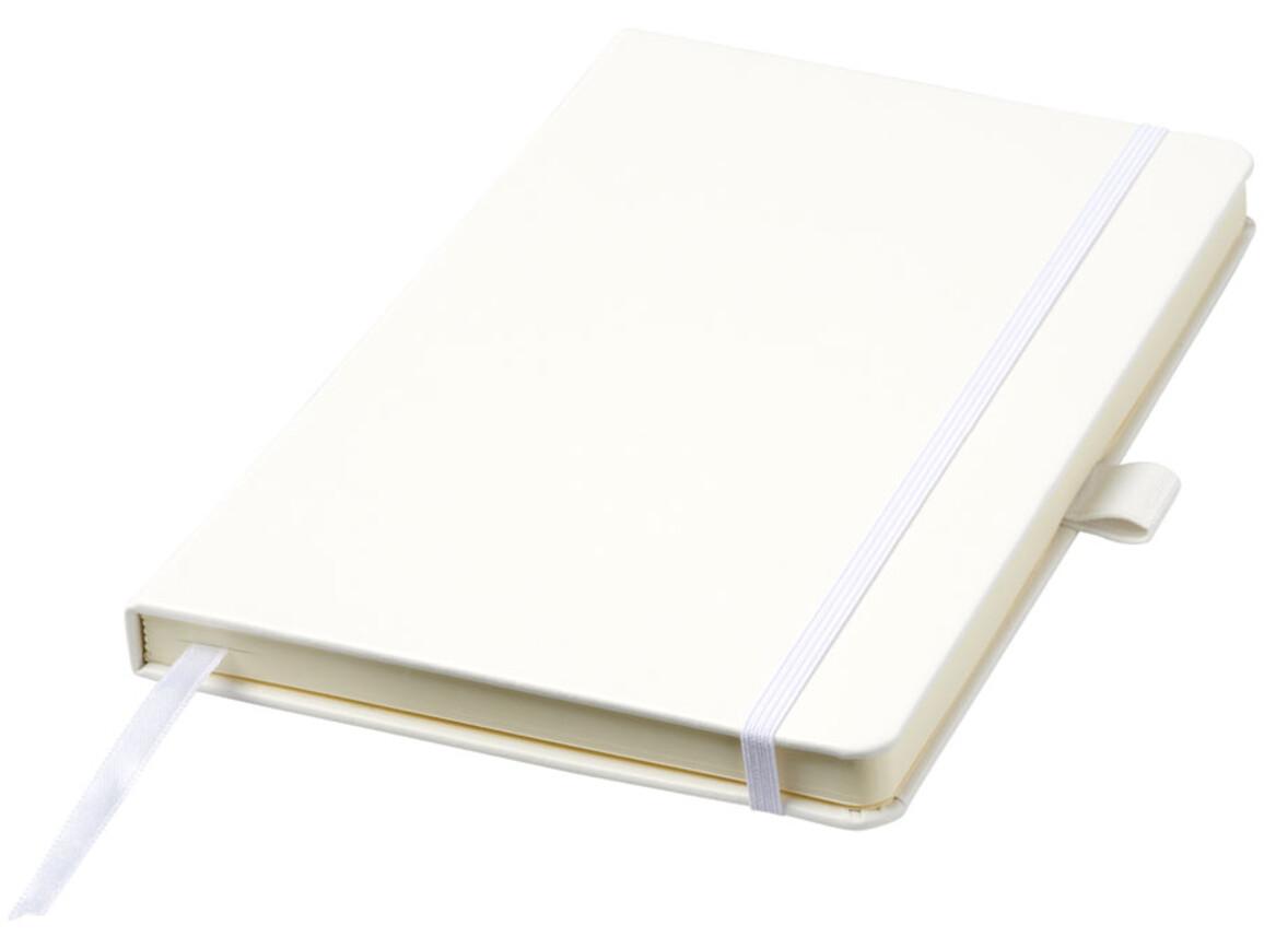 Nova A5 gebundenes Notizbuch, weiss bedrucken, Art.-Nr. 10739501