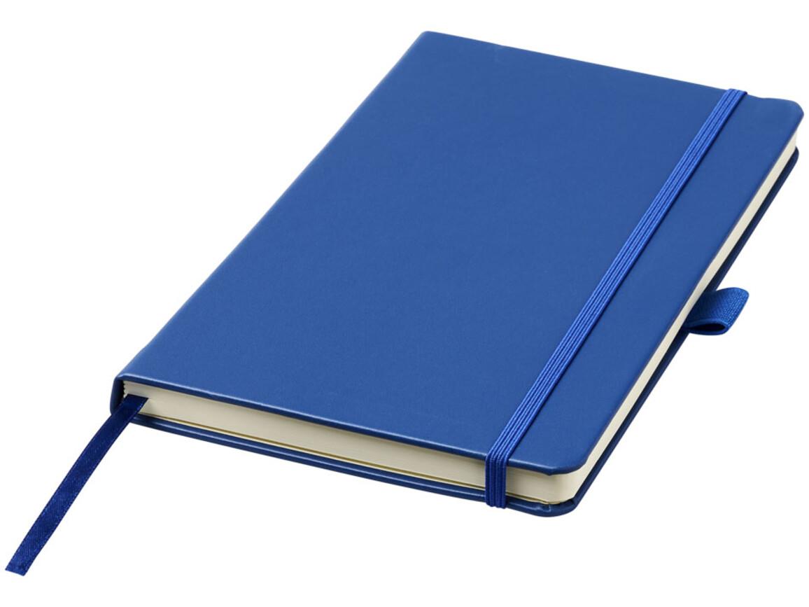 Nova A5 gebundenes Notizbuch, blau bedrucken, Art.-Nr. 10739503