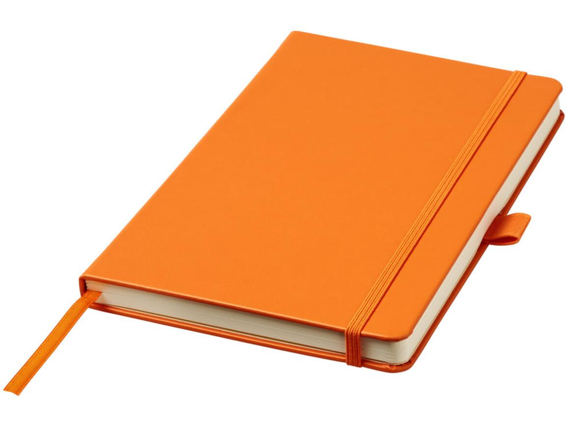 Nova A5 gebundenes Notizbuch, orange bedrucken, Art.-Nr. 10739506
