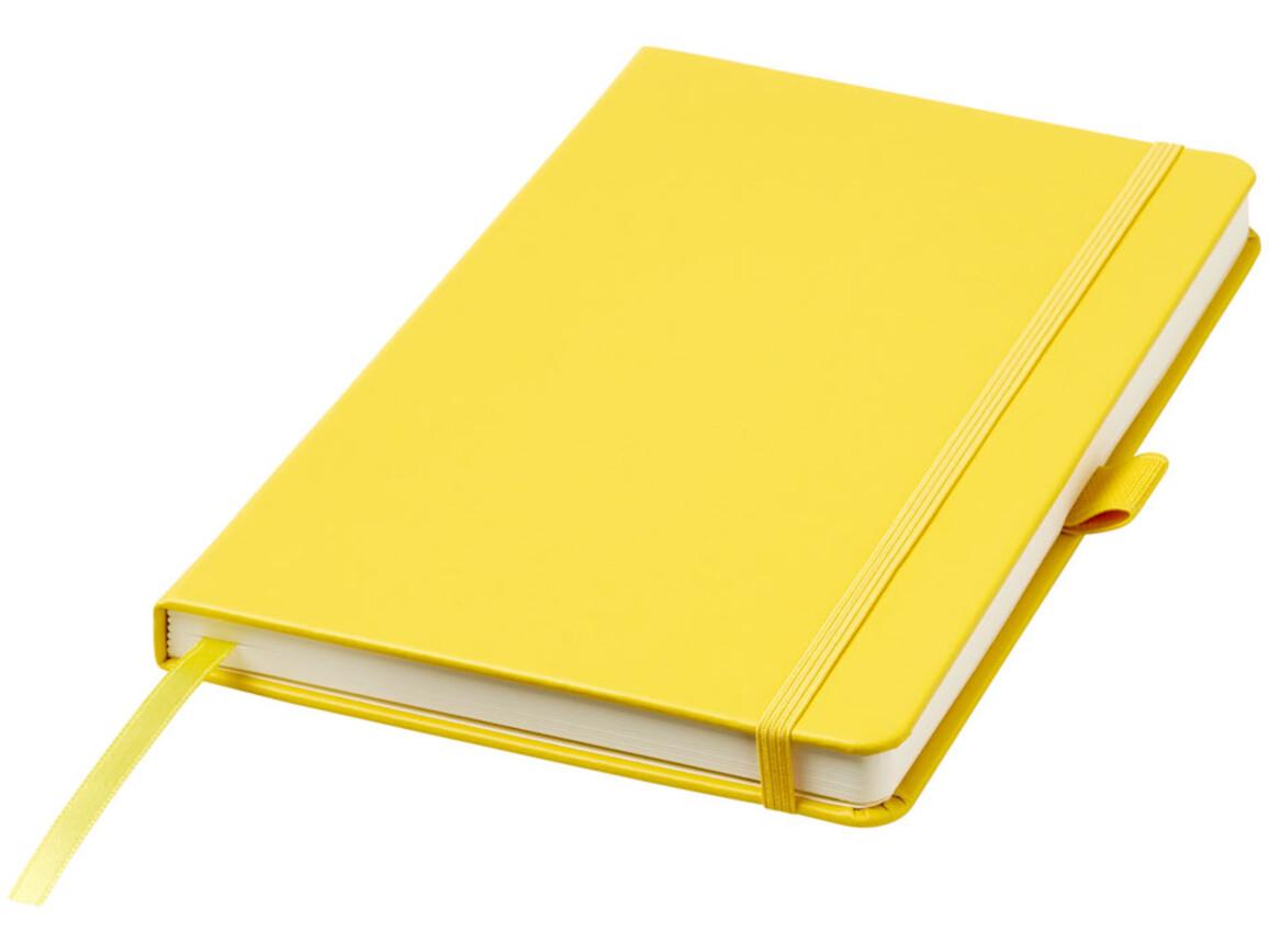Nova A5 gebundenes Notizbuch, gelb bedrucken, Art.-Nr. 10739508