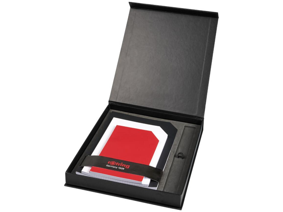 Notizbuch Geschenkset rOtring, schwarz bedrucken, Art.-Nr. 10742500