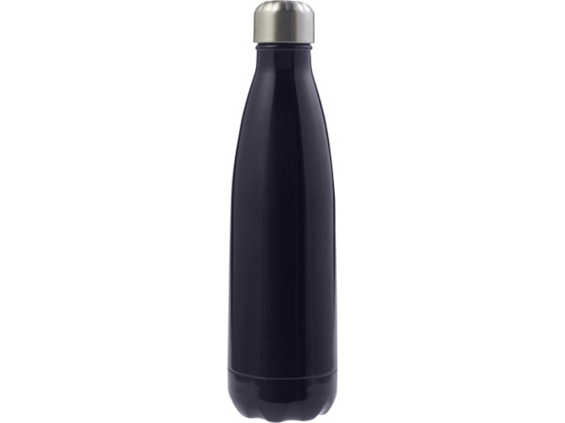 Trinkflasche 'Sumatra' (650 ml) aus Edelstahl – Blau bedrucken, Art.-Nr. 005999999_8528