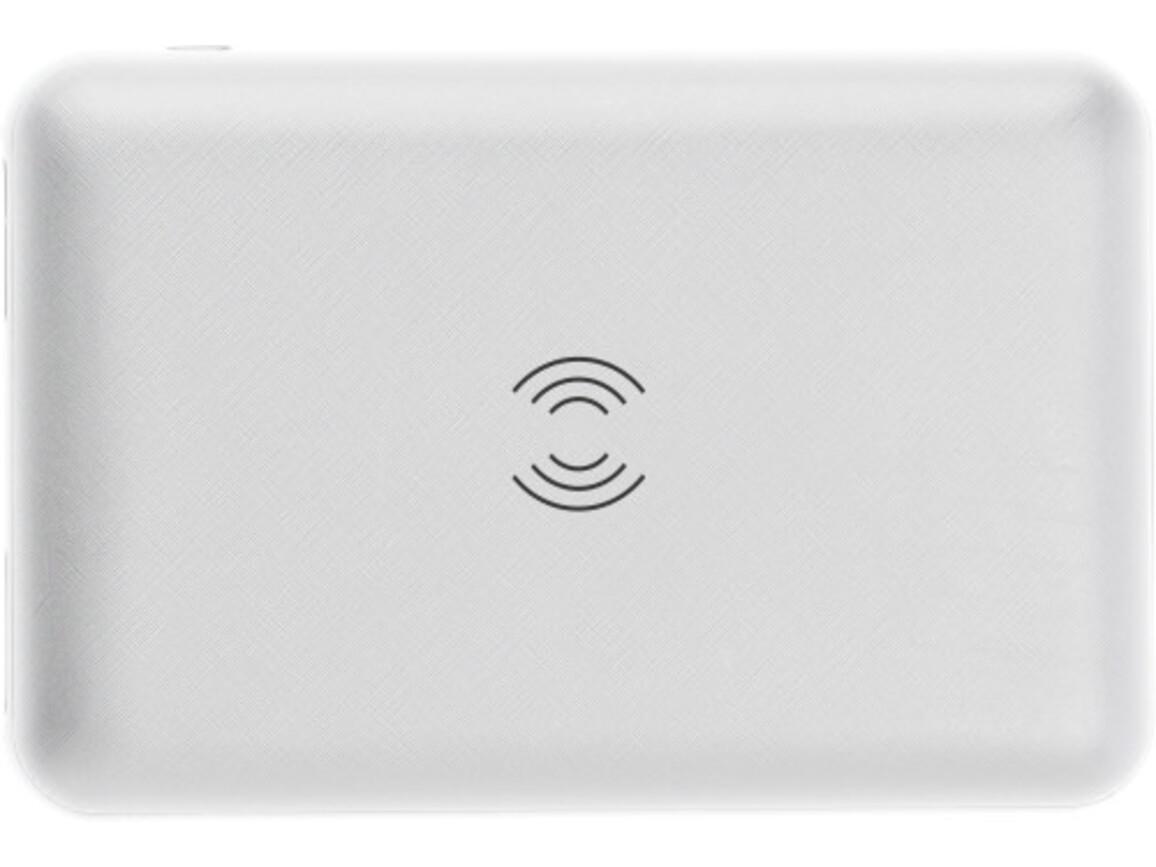 Powerbank 'Realto' aus Kunststoff – Weiß bedrucken, Art.-Nr. 002999999_9059