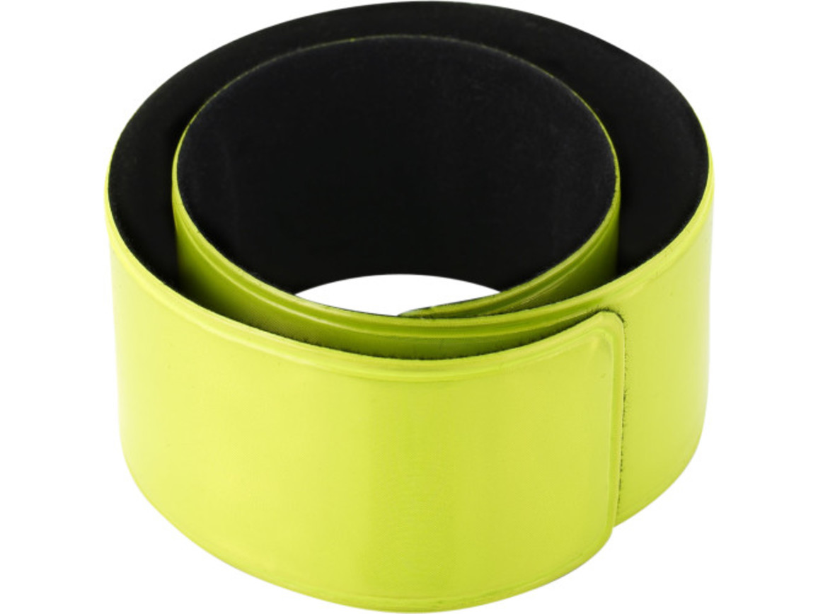 Snap-Armband 'Promo' – Gelb bedrucken, Art.-Nr. 006999999_6084