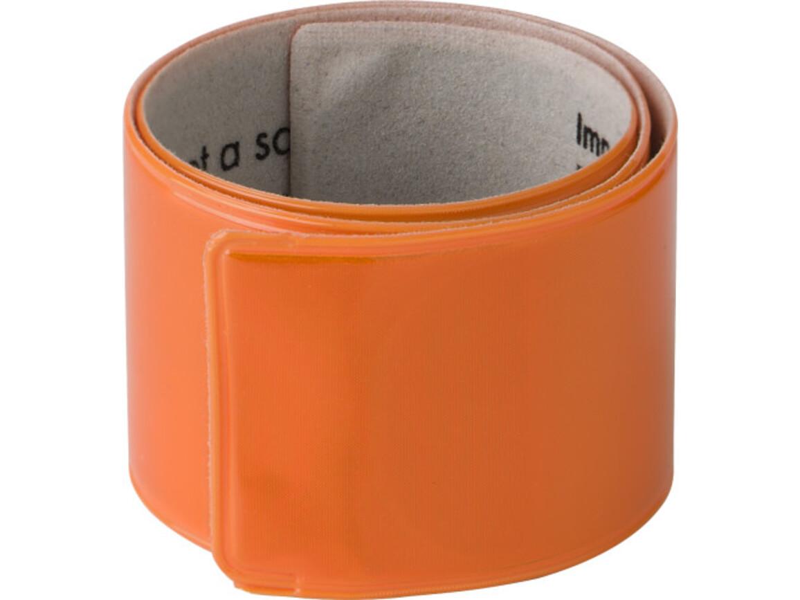 Snap-Armband 'Promo' – Orange bedrucken, Art.-Nr. 007999999_6084