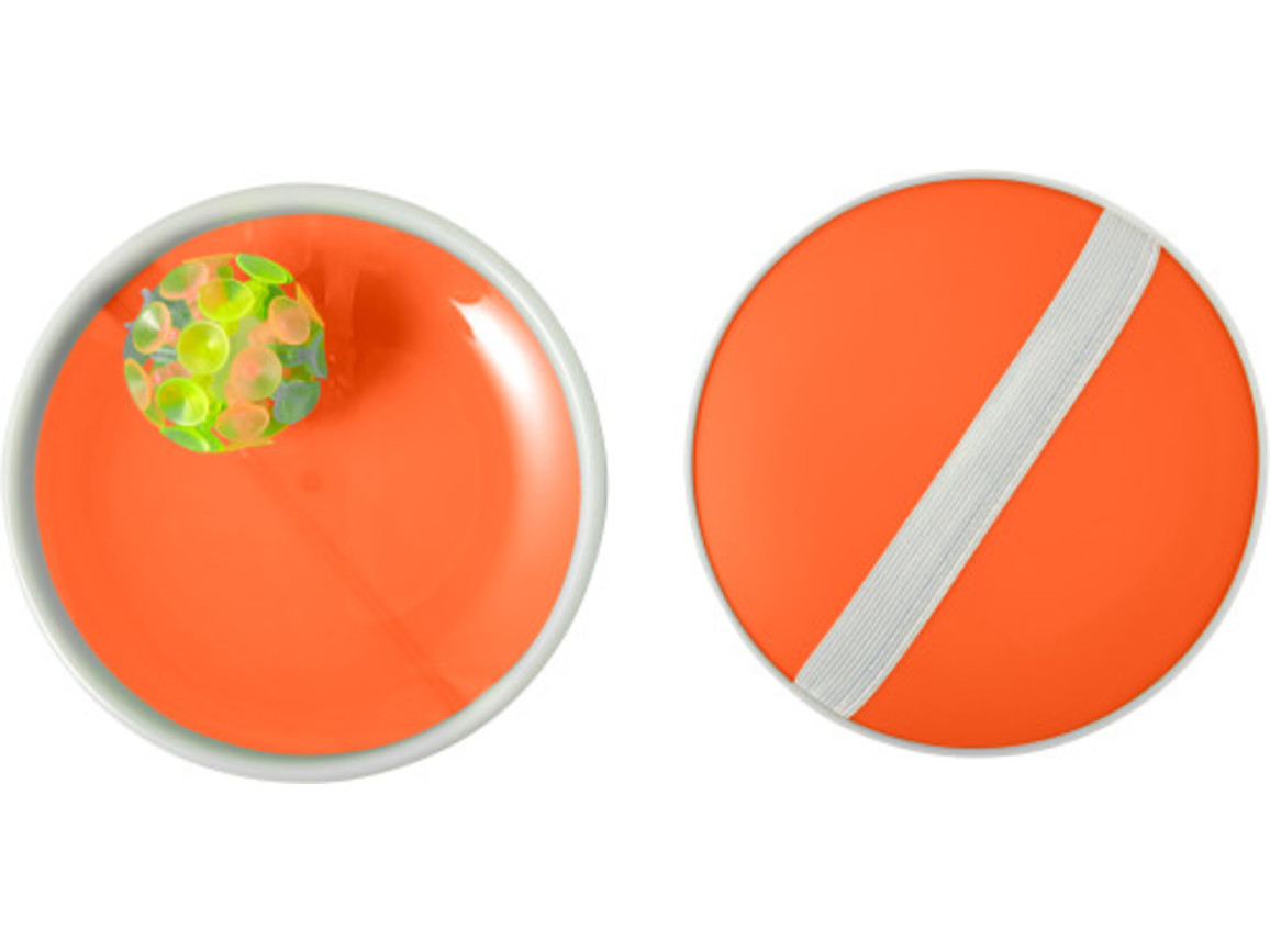 Ballspiel-Set 'Have Fun' – Orange bedrucken, Art.-Nr. 007999999_7819