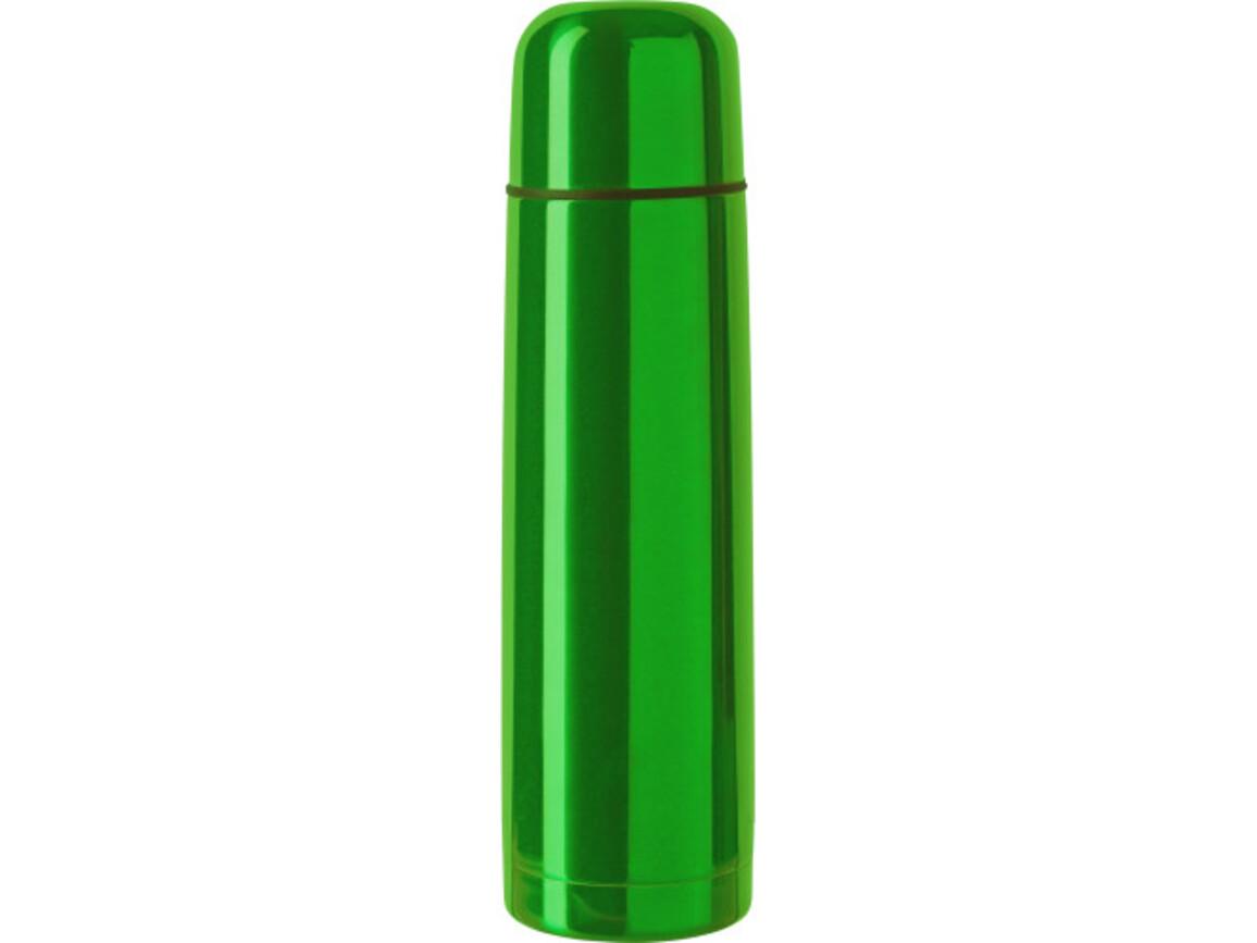 Isolierkanne 'Boston' aus Edelstahl – Grün bedrucken, Art.-Nr. 004999999_4617