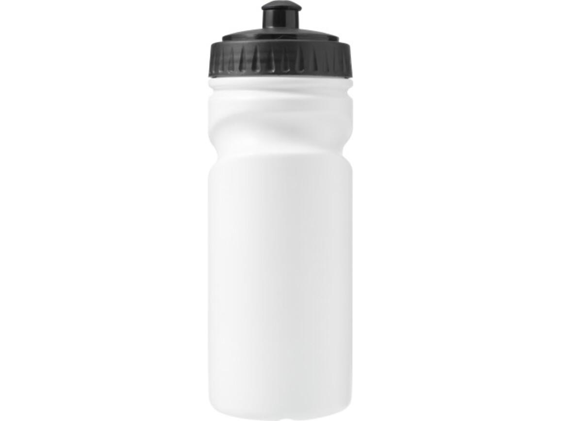 Trinkflasche 'Livorno' aus Kunststoff – Schwarz bedrucken, Art.-Nr. 001999999_7584