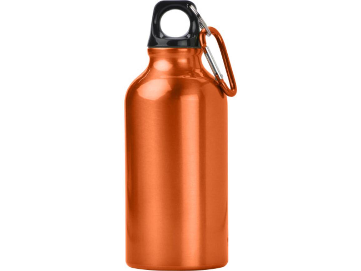 Trinkflasche 'Lissabon' aus Aluminium – Orange bedrucken, Art.-Nr. 007999999_7552