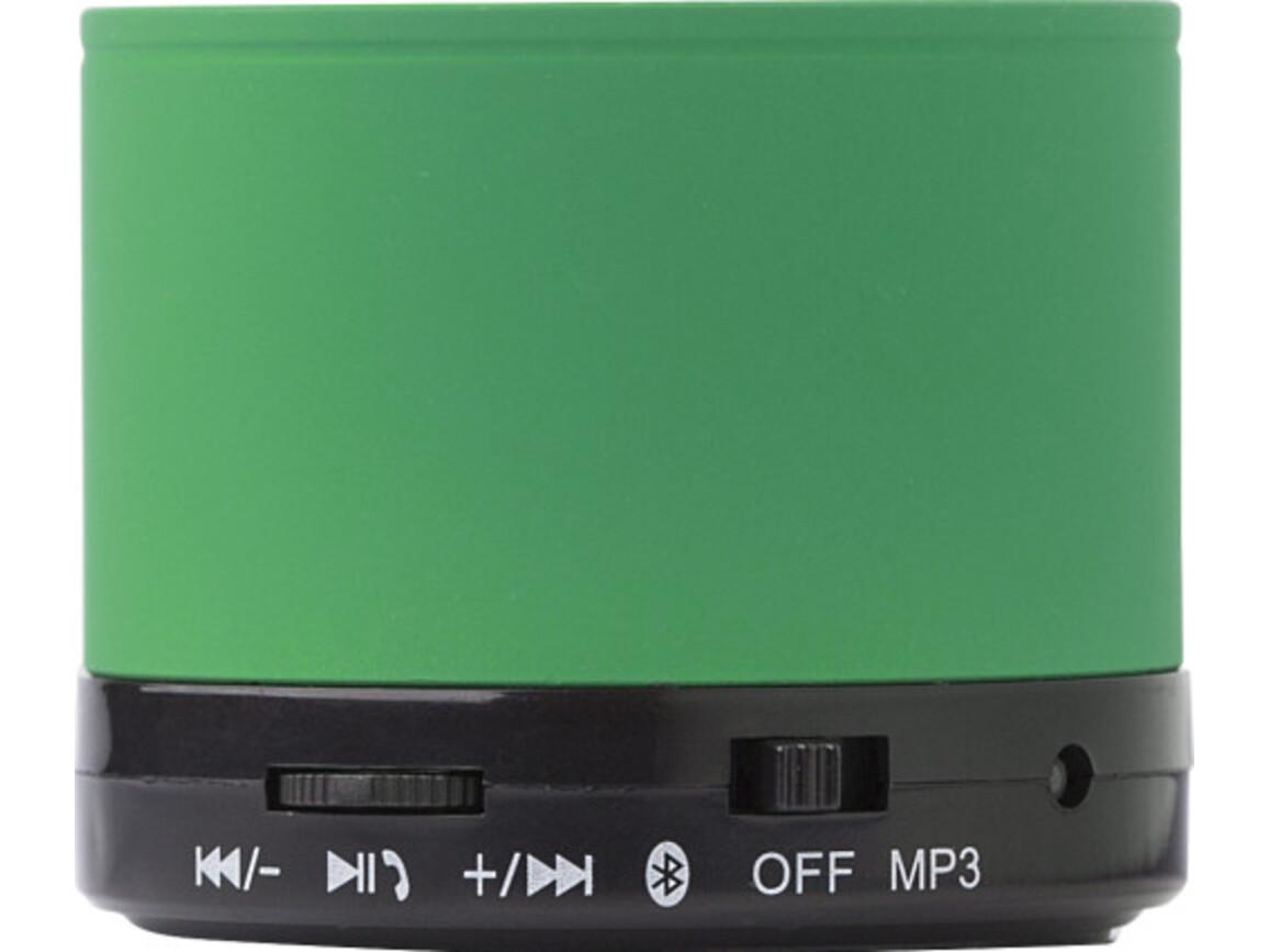Wireless Lautsprecher 'Emotion' aus Metall – Grün bedrucken, Art.-Nr. 004999999_8459