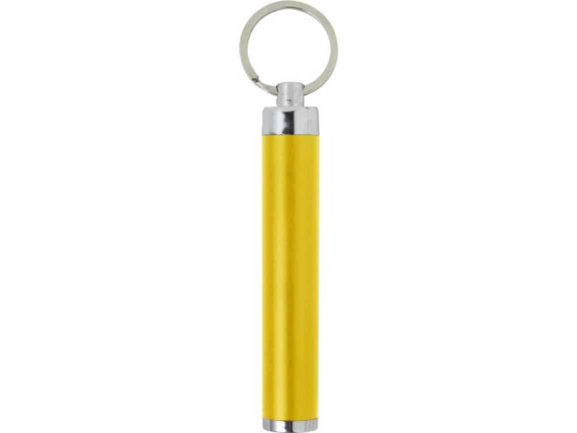 2-in1 LED-Taschenlampe 'Spot It' aus ABS – Gelb bedrucken, Art.-Nr. 006999999_8297
