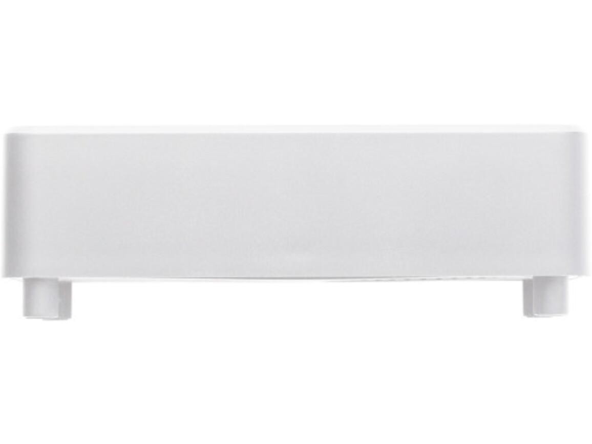 Lautsprecher 'Booster' aus Kunststoff – Weiß bedrucken, Art.-Nr. 002999999_7484
