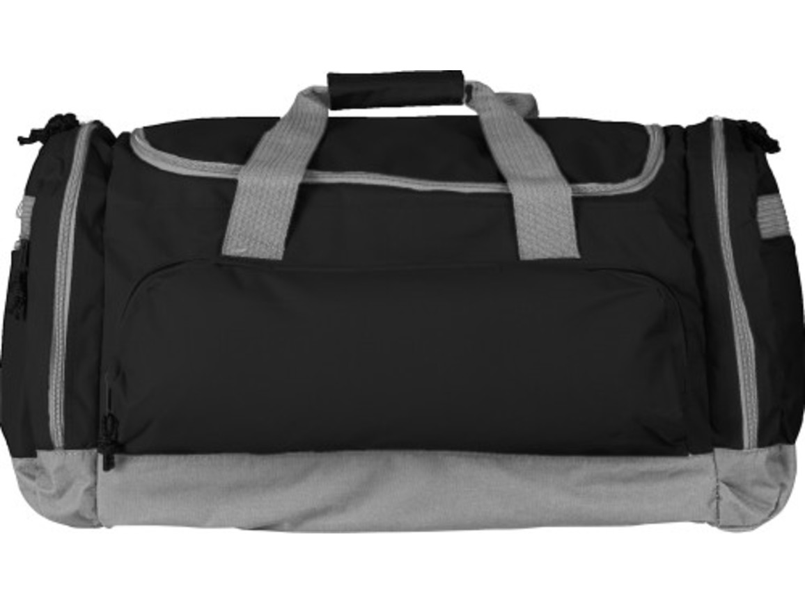 Sport-/Reisetasche 'Carribean' aus Polyester – Schwarz bedrucken, Art.-Nr. 001999999_6431
