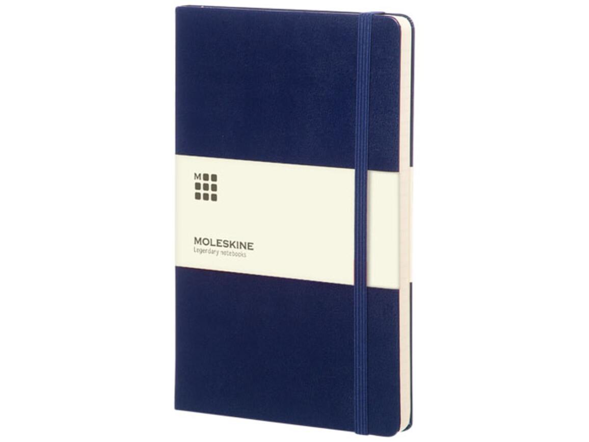 Classic Hardcover Notizbuch L – liniert, berliner blau bedrucken, Art.-Nr. 10715101
