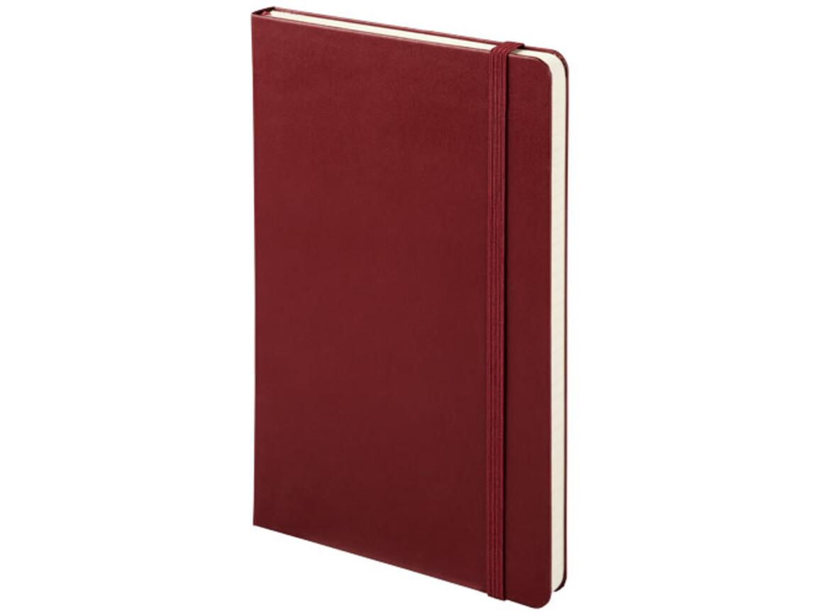 Classic Hardcover Notizbuch L – liniert, Amaranth rot bedrucken, Art.-Nr. 10715104