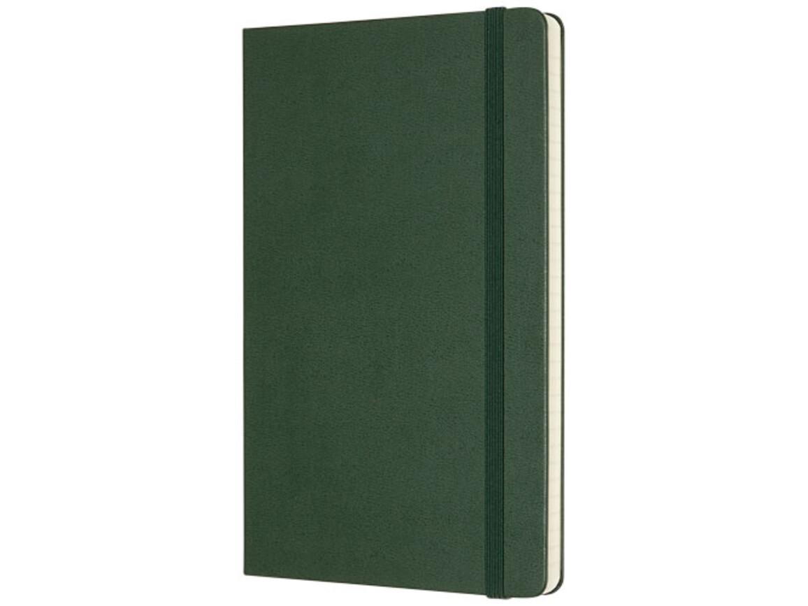 Classic Hardcover Notizbuch L – liniert, myrtengrün bedrucken, Art.-Nr. 10715122