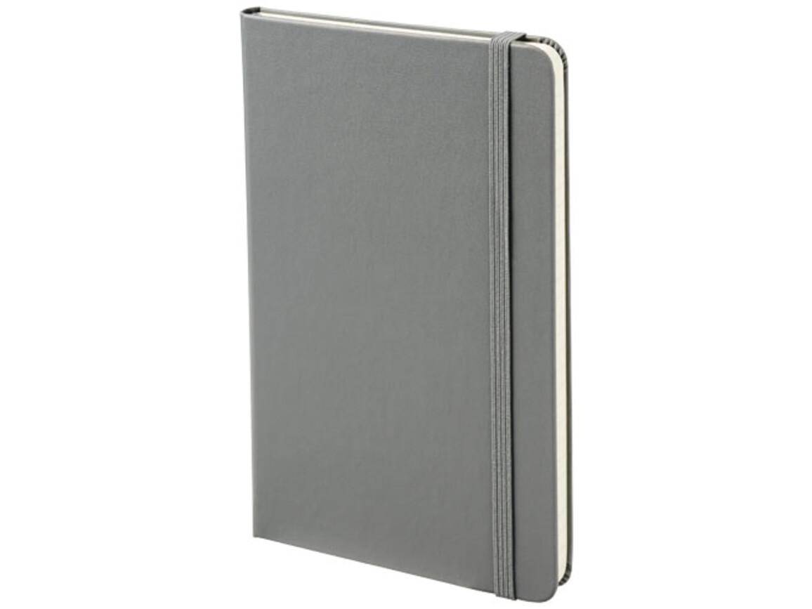 Classic Hardcover Notizbuch M – liniert, schiefergrau bedrucken, Art.-Nr. 10715302