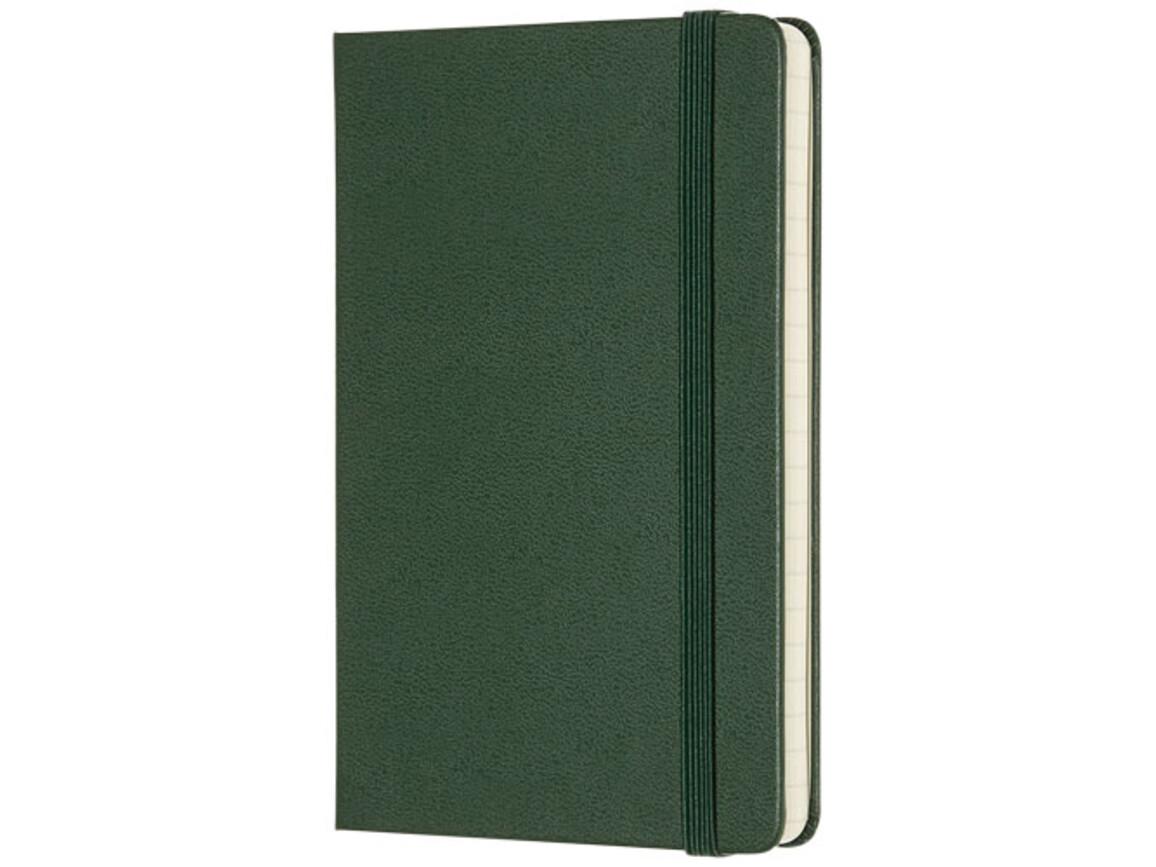 Classic Hardcover Notizbuch Taschenformat – liniert, myrtengrün bedrucken, Art.-Nr. 10715422