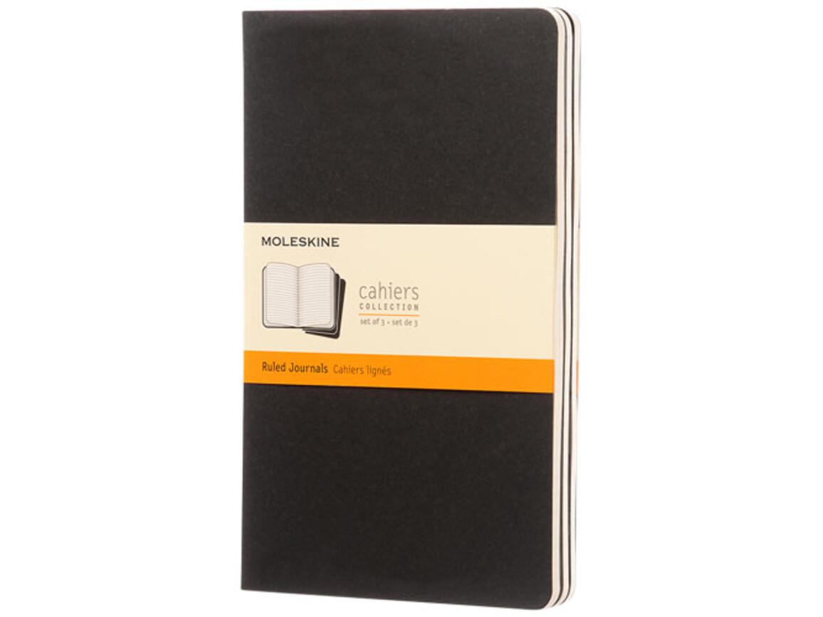 Cahier Journal L – liniert, schwarz bedrucken, Art.-Nr. 10715800