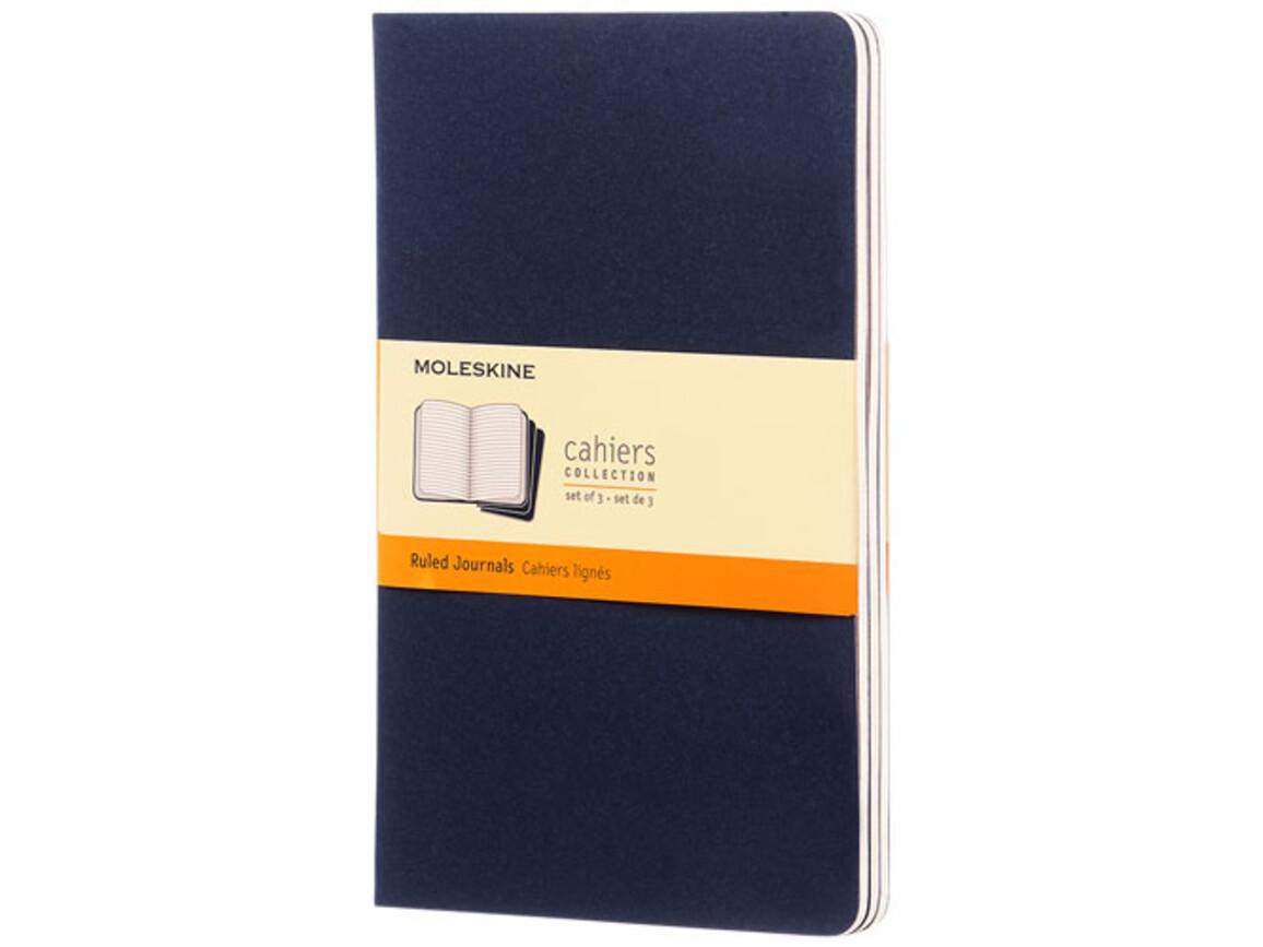 Cahier Journal L – liniert, indigoblau bedrucken, Art.-Nr. 10715811