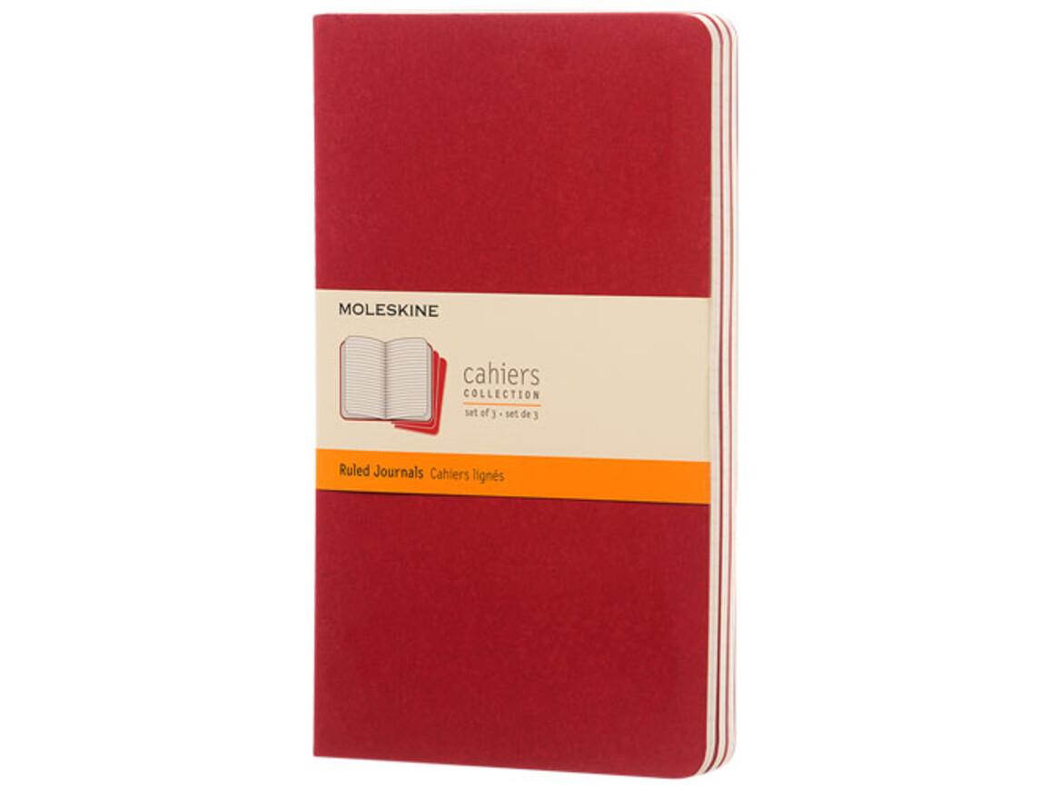 Cahier Journal L – liniert, Cranberry rot bedrucken, Art.-Nr. 10715816