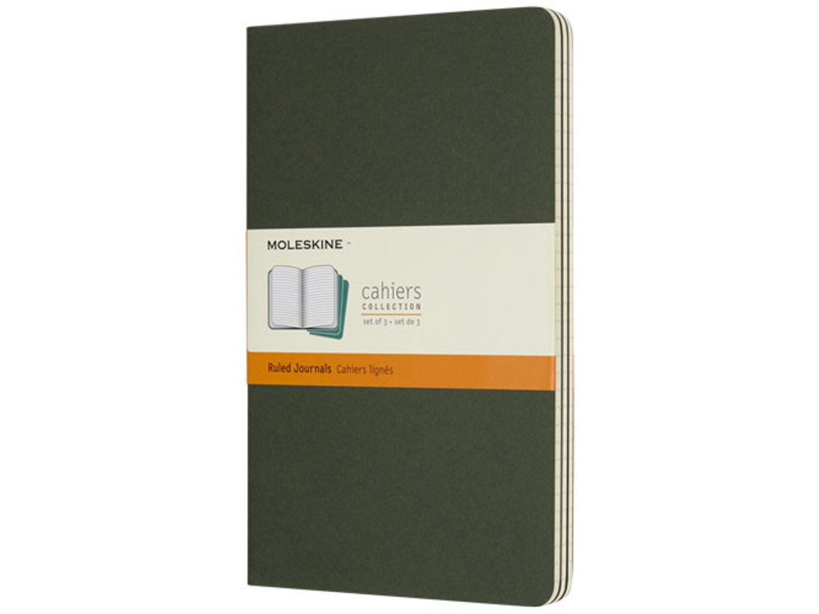 Cahier Journal L – liniert, myrtengrün bedrucken, Art.-Nr. 10715820