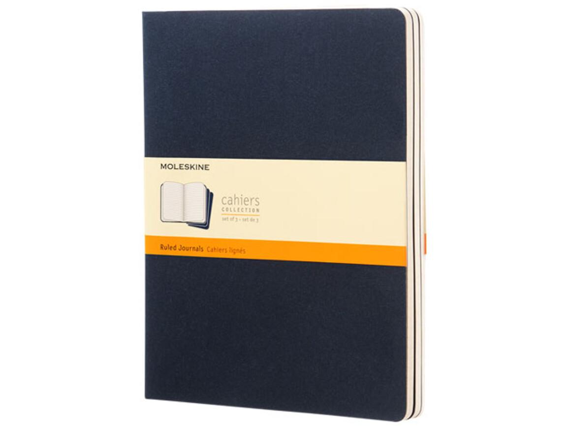 Cahier Journal XL – liniert, indigoblau bedrucken, Art.-Nr. 10715911