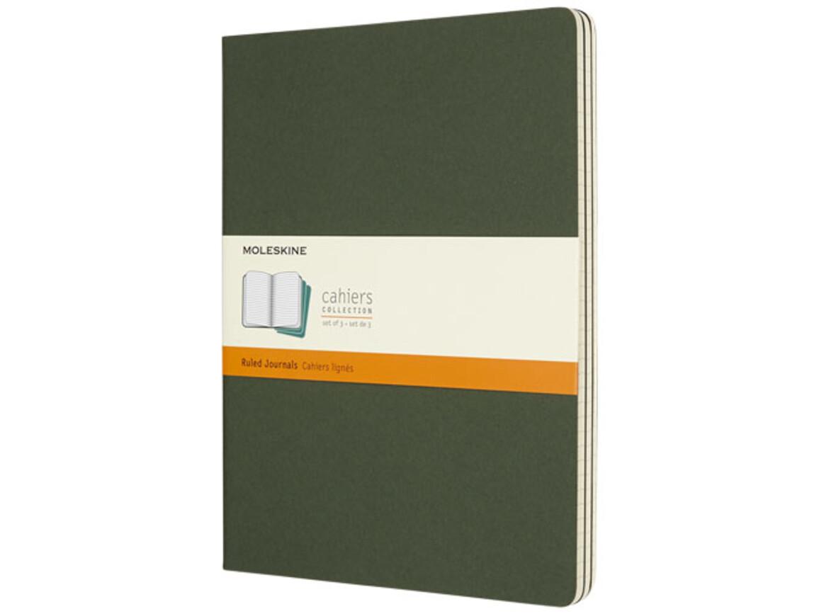 Cahier Journal XL – liniert, myrtengrün bedrucken, Art.-Nr. 10715920