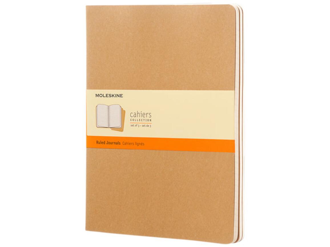 Cahier Journal XL – liniert, Kraftpapier bedrucken, Art.-Nr. 10715925
