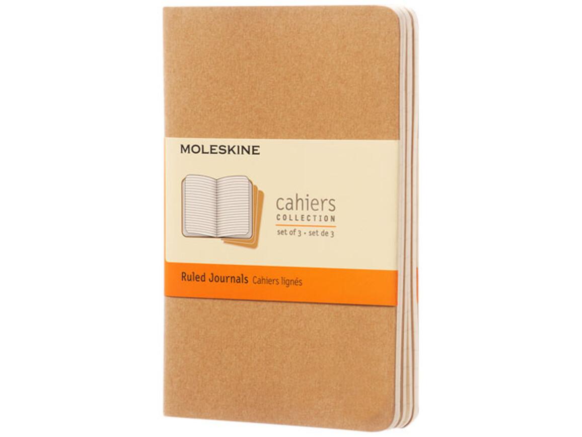 Cahier Journal Taschenformat – liniert, Kraftpapier bedrucken, Art.-Nr. 10716025